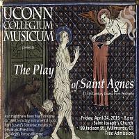 Collegium Musicum presents 'The Play of St. Agnes'