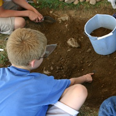 Archaeology Field School for Kids