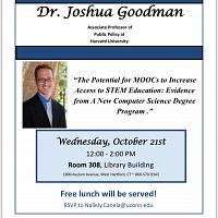 DPP Speaker Series with Dr. Joshua Goodman