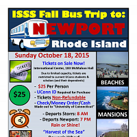 ISSS Fall Bus Trip to Newport, RI