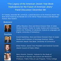 Panel Discussion: The Legacy of the American Jewish YearBook
