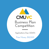 CMUVC Business Plan Competition Applications Due