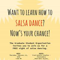 GSO Salsa Dancing Social