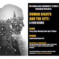 A Film Series :Human Rights and The City