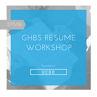 GHBS Resume Workshop