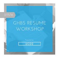 GHBS Resume Workshop