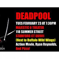 Deadpool Movie Night