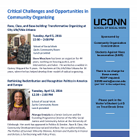 Critical Challenges and Opportunities in Community Organizin