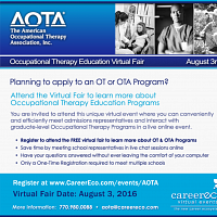 Occupational Therapy Education Virtual Fair