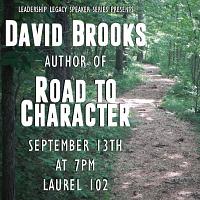 Road to Character: David Brooks