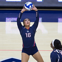 UConn vs. Tulane Volleyball