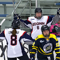 UConn vs. Boston College Women's Ice Hockey