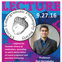 Philosophy Club Speaker: Neil Sinhababu