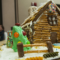 Holiday Celebration/Gingerbread House Decorating Comp.