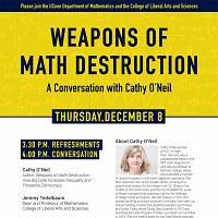 Weapons of Math Destruction: A Conversation w/ Cathy O'Neil