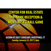 Real Estate Pre-Game Reception and Men's Basketball Game