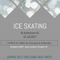 Spring 2017 Welcome Back Week! - Ice Skating