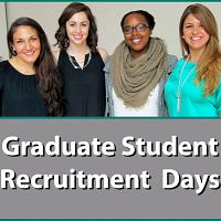 HDFS Grad Student Recruitment Days