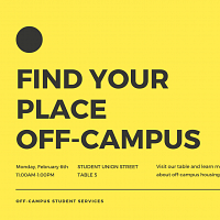 OCSS: Off-Campus Housing Tabling