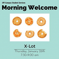 Morning Welcome: X Lot