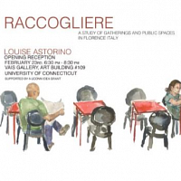 RACCOGLIERE - Art Exhibition Opening Reception