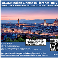 Italian Cinema in Florence (Summer 2017) - INFO SESSION