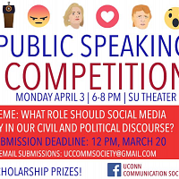 UConn's Fourth Annual Public Speaking Competition