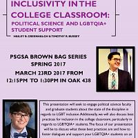 Inclusivity in the College Classroom: Political Science...