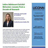 Latina Adolescent Suicidal Behaviors