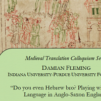 Medieval Studies Lecture
