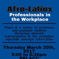 Afro-Latinx Professional Panel