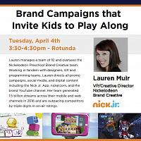 Digital Directions Speaker Series - Lauren Muir/Nickelodeon