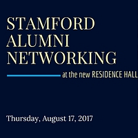 Stamford Alumni Networking at the New Residence Hall