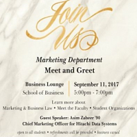 Marketing Department Meet and Greet