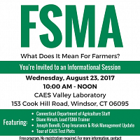 FSMA Info Session for Farmers