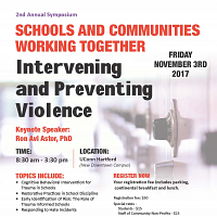 Violence Prevention in Schools Symposium