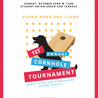UConn Paws and Claws 1st Annual Cornhole Tournament