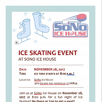 Ice Skating Event at SoNo Ice House