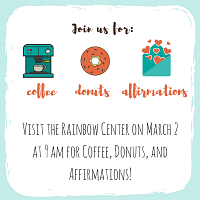 Rainbow Grads: Coffee, Donuts, Affirmations