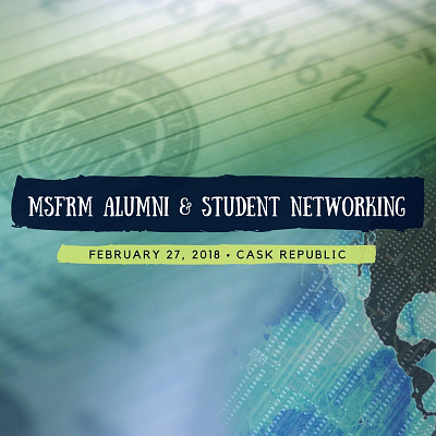 MS Financial Risk Management Alumni & Student Networking