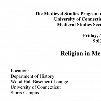 Medieval Studies Program Outreach/Early College Experience