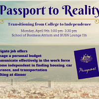 BUSN Passport to Reality - Senior Event