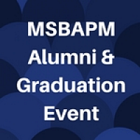 MSBAPM Alumni and Graduation Event