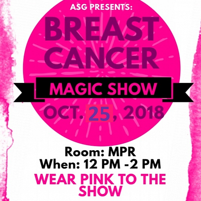 Magic Show & Breast Cancer Awareness