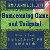 HRM Alumni and Student Homecoming Game and Tailgate