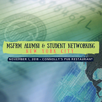 MSFRM Alumni & Student Networking, NYC