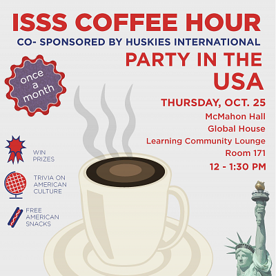 ISSS Coffee Hour: Party in the USA Trivia