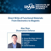 Doctoral Dissertation Oral Defense of Alan Shen