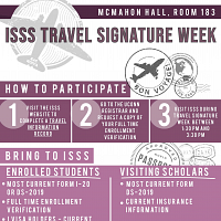 ISSS Travel Signature Week