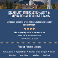 Symposium: Disability, Intersectionality, and Transnational Feminist Praxis